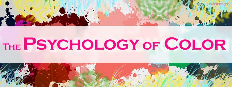 """[2° Parte] La Psicologia del Colore: Le sensazioni psicologiche dei colori """"Caldi"""" e """"Freddi""""."""