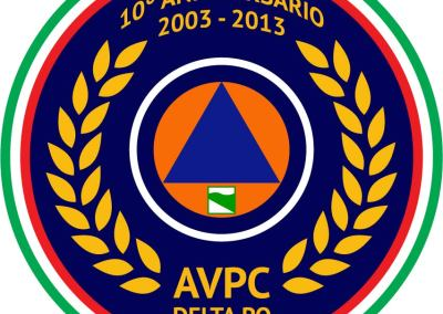 Logo anniversario AVPC