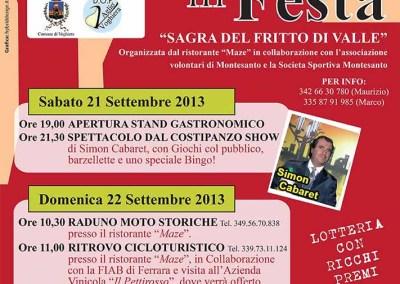 Locandina Montesanto 2013