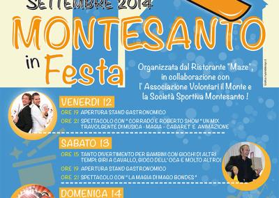 Locandina Montesanto 2014