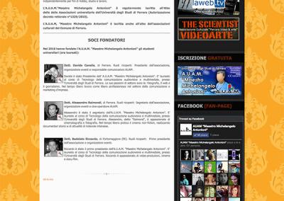 Una pagina di AUAM
