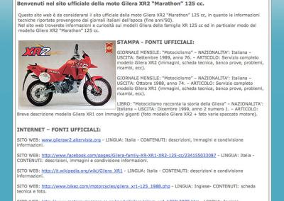 Home-page del sito web