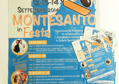 Montesanto stampato