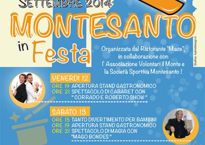 Volantino Festa Montesanto