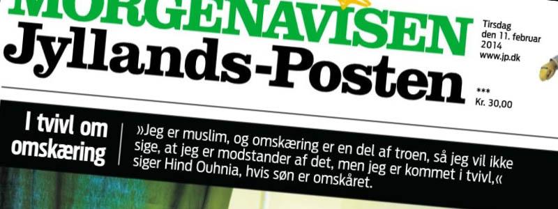 L'uso della grafica nell'informazione giornalistica e il caso Jyllands-Posten.