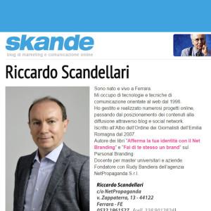 Riccardo Scandellari