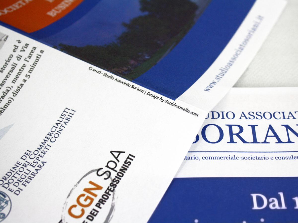 depliant aziendale Ferrara