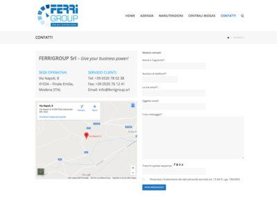 sito web ferri modena