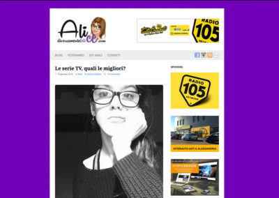 Blog personale di Alice