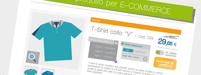 Ecommerce e Catalogo stampa: linee guida per catalogare le informazioni delle schede prodotto. [INFOGRAFICA]