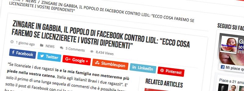Crisis management: gli errori di comunicazione di Lidl Italia sul caso delle zingare chiuse in gabbia