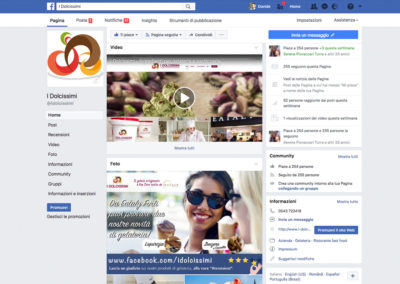 Pagina Facebook I Dolcissimi